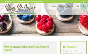 Mary McGovern Diabetes & Nutrition Specialist