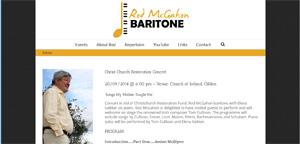 Rod McGahon Baritone